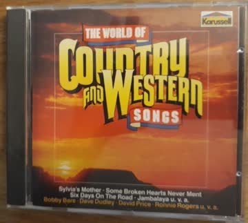 Various - The World Of Country And Western Songs