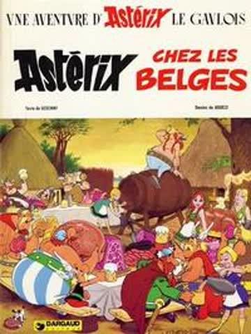 Asterix chez les Belges (Une Aventure D'Asterix)