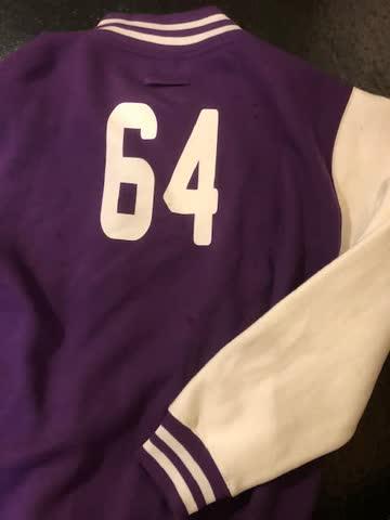 College Jacke - Baseball Jacke (Flecken)