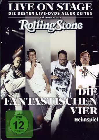 Die Fantastischen Vier - Heimspiel - Live on Stage (Rolling Stone)
