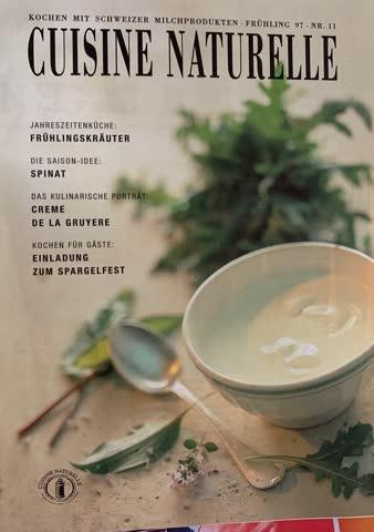 Cuisine Naturelle Nr. 11, 1997, Frühling