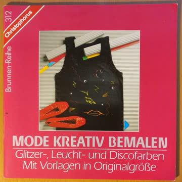 Mode kreativ bemalen / Glitzer-, Leucht- & Discofarben
