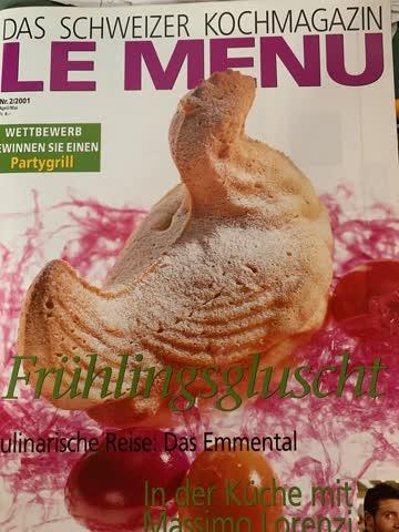 Le Menu Nr. 02, 2001