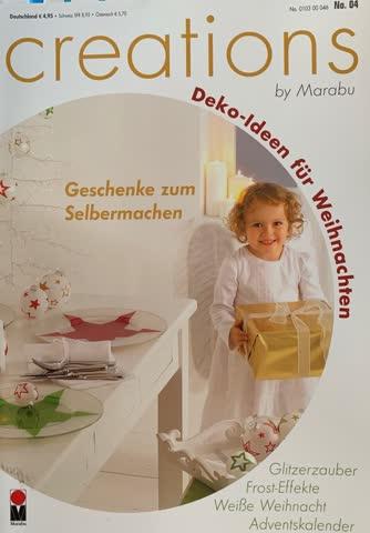 Creation by Marabu, No. 4 - Dekoideen für Weihnachten