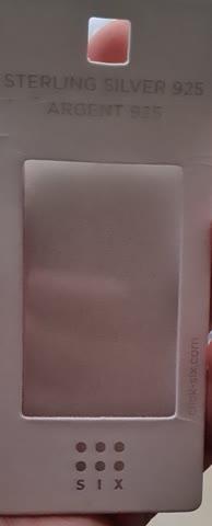 Nasenpiercing ungebraucht silber