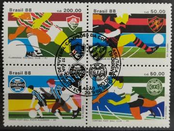 1988 Brasilianische Fussball Klubs Gewinn des Goldpokals Vie