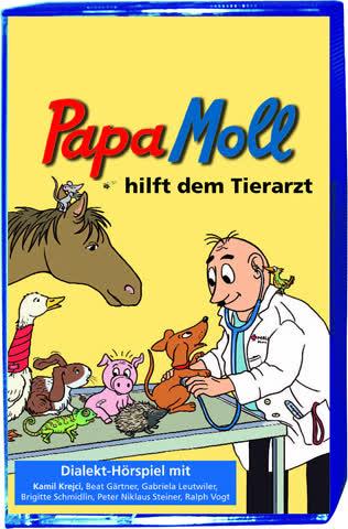 Papa Moll hilft dem Tierarzt. MC
