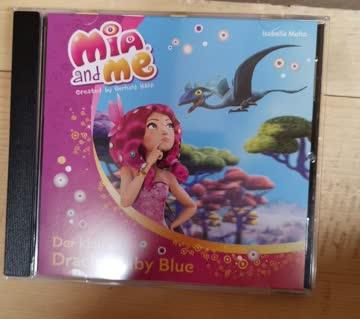 2x Mia and me: Der kleine Drache Baby blue/ Der versteckte Schatz