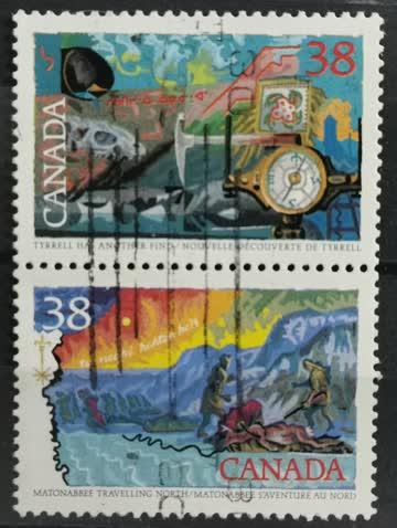 1989 Eroberer; Tyrell & Matonabbee Travelling Zusammenhängen