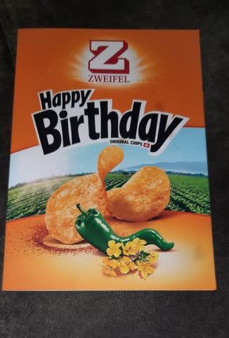 Geburtstagskarte von zweifel