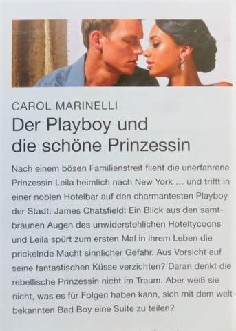 Julia Der Playboy und die schöne Prinzessin