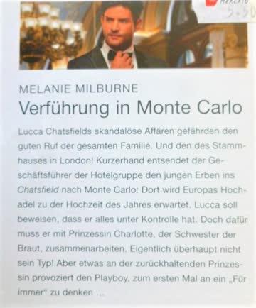 Julia Verführung in Monte Carlo