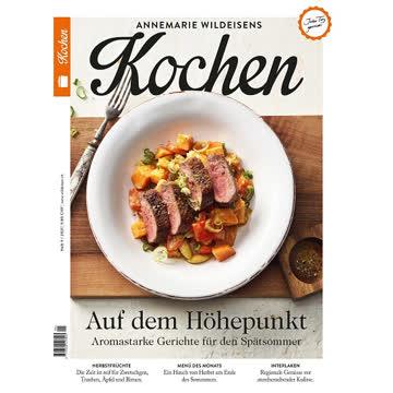 """Annemarie Wildeisen """"Kochen"""", Heft 9/2021"""