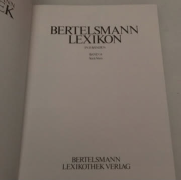 Bertelsmann Lexikon