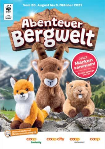 Coop Abenteuer Bergwelt (2 volle Sammelkarte)