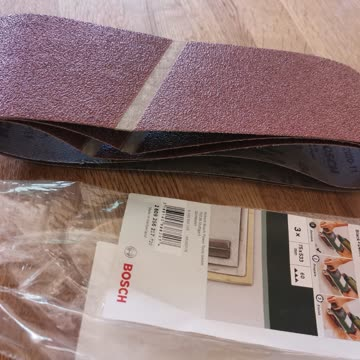 Bosch Schleifband neu falsch gekauft