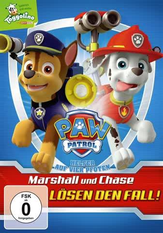 Paw Patrol - Marshall und Chase löschen den Fall