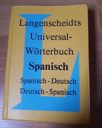 Mini Spanisch-Wörterbuch