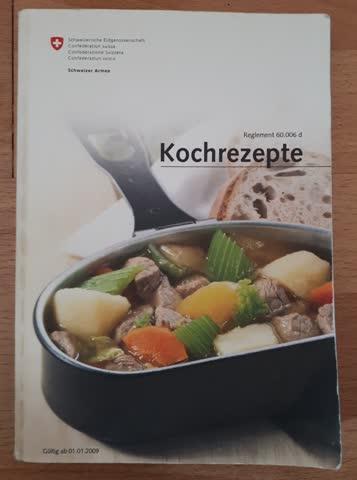 Kochbuch der Schweizer Armee