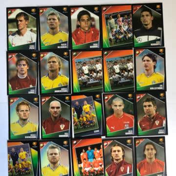 25x Panini Euro 2004 Portugal