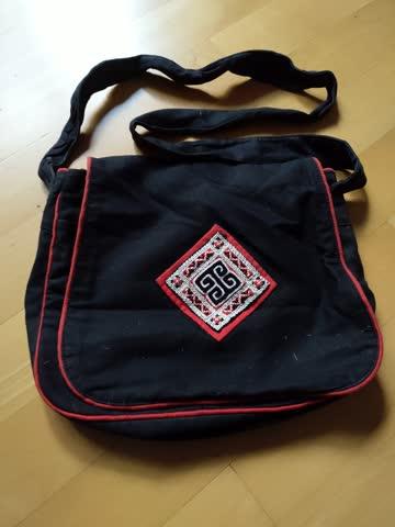 Stofftasche schwarz