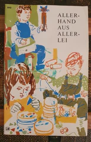 Allerhand aus Allerlei (Bastelheft f. Kinder)