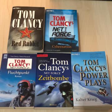 Romane von Tom Clancy (9 Bücher)