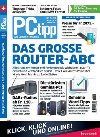 PCtipp Nr.10 Oktober/2021