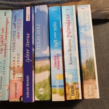 Buch Paket 10 Bücher Frauenromane , Nordsee und Ostsee Thema