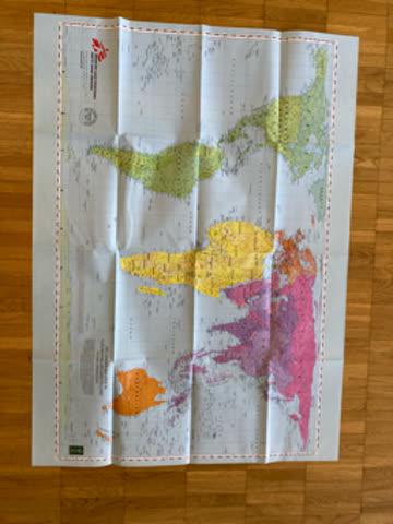Weltkarte NEU