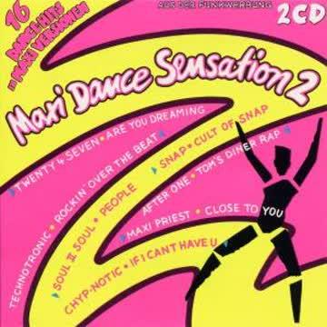 Various Artists - Maxi Dance Sensation 2 (1990)
