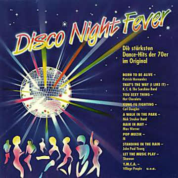 Disco Nightfever - Village People, Shannon, Scotch, Isaac Hayes, Max Werner..