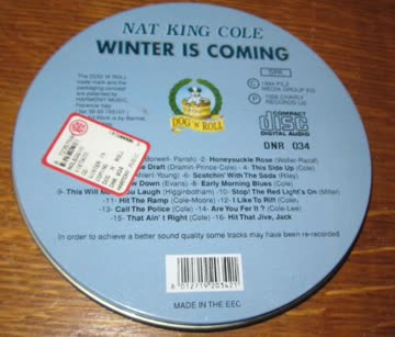 Nat King Cole - Winter is coming (in can)