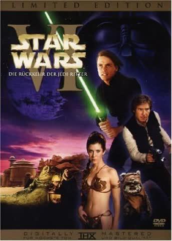 Star Wars: Episode VI - Die Rückkehr der Jedi-Ritter (Original Kinoversion + Special Edition, 2 DVDs) [Limited Edition]