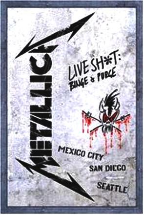 Metallica - Metallica - Live Shit (Binge & Purge) (2 DVD + 3 CD)