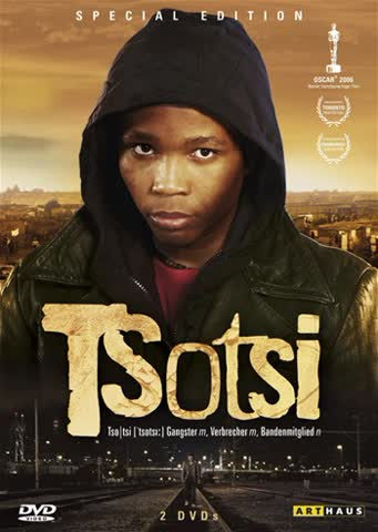 Tsotsi (Special Edition, 2 DVDs)
