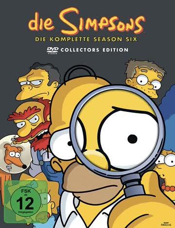 Die Simpsons - Die komplette Season 6 (Collector's Edition, 4 DVDs)