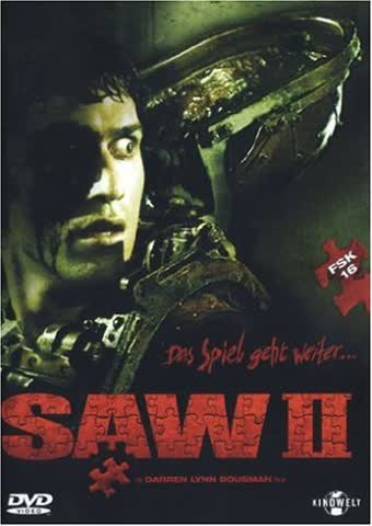 Saw II (FSK 16) [DVD] (2006) Donnie Wahlberg, Franky G, Glenn Plummer [DVD]