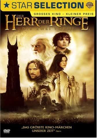 Der Herr der Ringe - Die zwei TÃrme [DVD] (2006) Christopher Lee, Elijah Wood