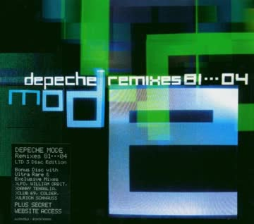 Depeche Mode - Remixes 81-04 (Limited Edition)