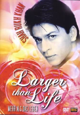 Shahrukh Khan - Larger than Life [DVD] (2006) Shah Rukh Khan; Helle Ryslinge