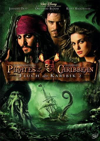 Pirates of the Caribbean - Fluch der Karibik 2 (Einzel-DVD)