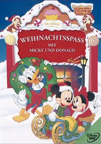 Weihnachtsspass mit Micky u.Donald