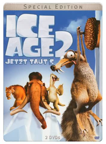 Ice Age 2 - Jetzt taut's - Special Edition - Steelbook (2 DVDs)