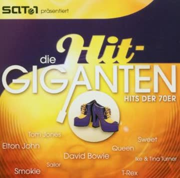 Various - Die Hit Giganten - Hits der 70er