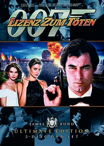 James Bond 007 Ultimate Edition - Lizenz zum Töten (2 DVDs)