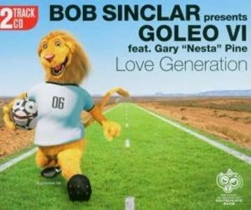 Bob Feat.Goleo VI Sinclar - Love Generation (2 Track)