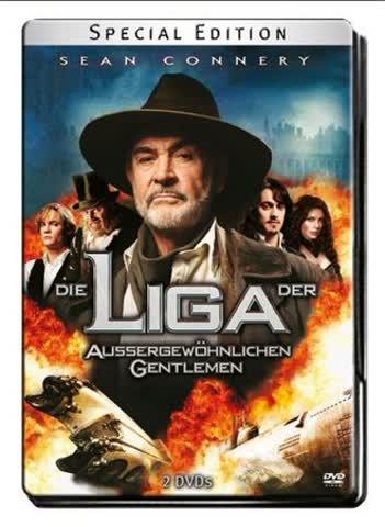 Die Liga der außergewöhnlichen Gentlemen (Special Edition, 2 DVDs im Steelbook)