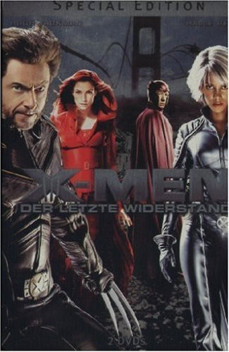 X-Men 3 (Special Edition, 2 DVDs im Steelbook)