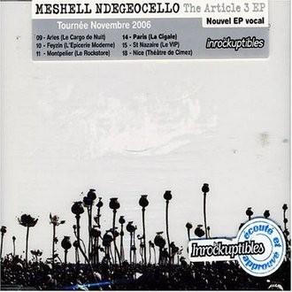 Meshell Ndegeocello - Tha Article 3 EP